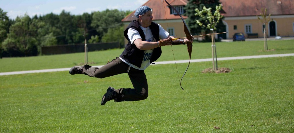 Spiel & Spass mit Pfeil und Bogen